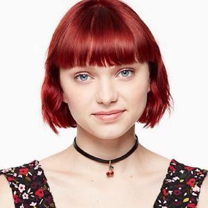 Kate spade Ma cherry chocker necklace